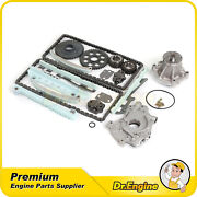 Timing Chain Kit Oil Water Pump Set Fit 98-01 Lincoln Town Car 4.6l