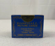 Topps 1985 Baseball Limited Edition Collectors Traded Set Factory Sealed