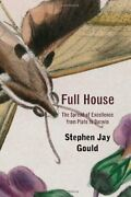 Full House The Spread Of Excellence From Plato To Darwin By Gould Stephen Jay