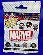 Disney Collectible Pin Pack Marvel Kawaii Ii Mystery Bag Of 5 Pins Sealed New