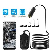 2.0mp Auto Focus Wifi Endoscope Camera Ip67 1944p Hd Inspection For Android