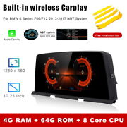 8-core Android Car Gps Nav Multimedia Unit Wireless Carplay For Bmw 6 Series F12