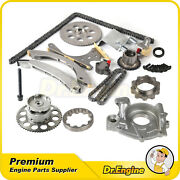 For Chevrolet Buick Gmc Timing Chain Oil Pump Kit Variable Valve Timing Sprocket