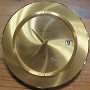 .vintage Jaeger Le Coultre Table Desk Clock Swiss Made - Serviced