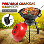 Portable Grill Bbq Smoker Charcoal Outdoor Camping Patio Wood Barbeque Oven 17