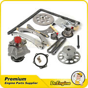 Fit For 2006-2007 Chevrolet Trailblazer Buick Timing Chain Water Pump Kit Vvt