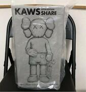 New Kaws Share Grey Medicom Toy Vinyl Figure Unopened From Japan Free Shipping