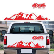 4x4 Off Road+mountain Graphic Decal Sticker For Car Truck Exterior Accessories