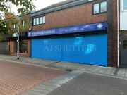 Commercial Shopfront Roller Shutter Door - Sizes Available Up To 4mtr