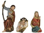 3 Piece Holy Family Nativity Set Christmas Display Prop Figurines