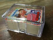 2021 Topps Garbage Pail Kids Food Fight Saucy Red Parallel Lot Of 117 No Dups