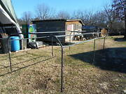 Military Surplus Truck Cover Frame 8x14x4 Mtv M1083 Bows 5 Ton--more Rust- Army
