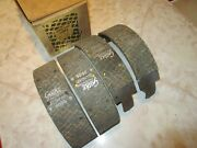 Relined Front And Rear Brake Shoes 1958-1959 Edsel 1955 1956 1957-59 Mercury 11