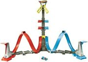 Mattel - Hot Wheels Loop And Launch Track Set [new Toy] Toy Car