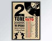 Two Tone Madness The Specials 1979 Print Poster Decor Home Wall Poster Dungeons