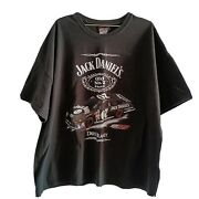 Dave Blaney Autographed Jack Daniels No. 7 Chevy Monte Carlo Rcr Racing T-shirt