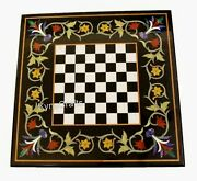 20 X 20 Inches Marble Game Table Top Royal Look Coffee Table From Vintage Crafts