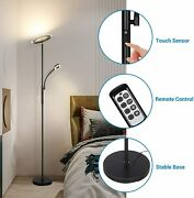 Dewenwils Modern Dimmable Floor Lamp With Remote Torchiere Led Standing Light