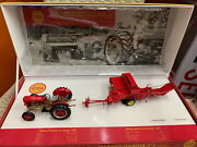 Uh 1/32 Scale Ferguson 35 Deluxe And Massey Harris No.3 Baler Set Uh5238 Toy Gift