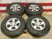 98-02 Toyota Land Cruiser Set Of 16 Wheels Rim And 275/70/16 Michelin Tires