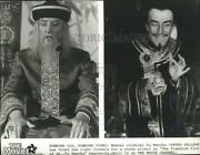 1981 Press Photo Peter Sellers In The Fiendish Plot Of Dr. Fu Manchu