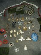 Huge Job Lot Of Millitary Patches/badges