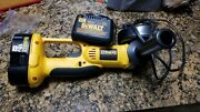 Dewalt Dc410 18v 4-1/2 Heavy Duty Cordless Cut-off Tool W/charger And 1 Battery