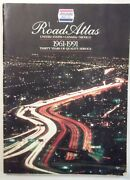 Allstate Motor Club Road Atlas 1961-1991 United States Canada And Mexico