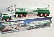 1990 Hess Truck Toy Tanker Truck W/head/tail Lights/horn New In Box Tested/works