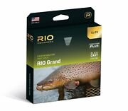 New Elite Rio Grand Wf-5-f 5 Weight Forward Floating Fly Line With Slickcast