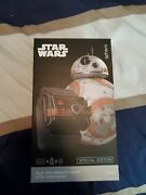 Star Wars Sphero Bb-8 And Force Band Enabled Droid Battle-worn Special Edition