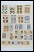 Lot 33269 Stamp Collection French Zone 1945-1946.