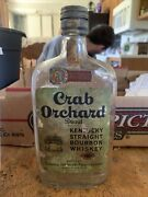 Labeled Crab Orchard Brand Kentucky Straight Whiskey Bottle