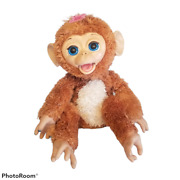 Hasbro Furreal Friends Cuddles My Giggly Monkey Interactive Pet Working Read