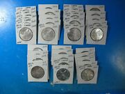 Mexico 35 Libertads One Ounce .999 Silver See Pics For Dates