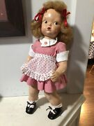 Vintage Terri Lee Patent Pending 1940's Doll With Mannequin Hair, Hard Plastic.