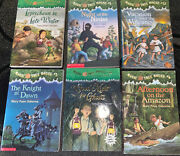 Lot Of 6 Magic Tree House Books Rare Hard To Find Titles Free Shipping