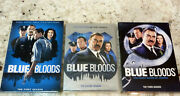 Blue Bloods First-second Andthird Season Lot Of 3 Dvd's Brand New Sealed