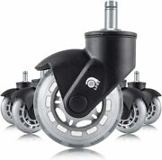 Lphy Chair Caster Wheels 3and039and039 Smooth Rolling Heavy Duty Casters For All Floors