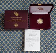 American Eagle 2021 One-tenth Ounce Gold Proof Coin 1/10 Oz