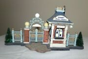 Dept 56 East Harbor Ferry 59213 Ticket Booth Entrance Only Christmas In The City