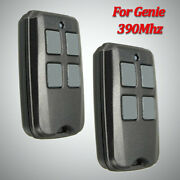 2 Garage Door Opener Remote For Genie Intellicode 390mhz Acsctg Type 1 Type 3