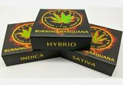 Limited 420 Edition Complete Set Of 3 5 Silver Coins Burning Marijuana Nrmint