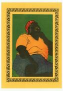 Emory Douglas 1973 Black Panther Party African American Revolutionary Art J7098