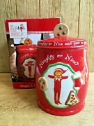 Christmas The Elf On The Shelf Cookie Jar Naughty Nice Barnes And Noble Original