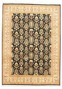 Hand-knotted Carpet 9and0390 X 12and0395 Traditional Vintage Wool Rug