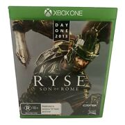 Ryse Son Of Rome - Day One 2013 For Microsoft Xbox One - Tested And Working - Vgc