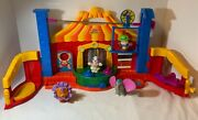 Fisher Price Little People Circus Touch N Feel Animals 2005 Complete Set Works