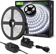Led Strips Lights Kit - Dimmable 1200lm Daylight White 6000k Plug And Play 5 M