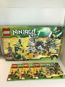 Lego 9450 Ninjago Epic Dragon Battle Instruction 3 Manuals And Box Only